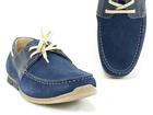 Wiązane obuwie męskie w stylu mokasyna