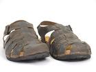 Sandały męskie skórzane, rzymianki męskie brązowe ANDIAMO 8809 T.Moro