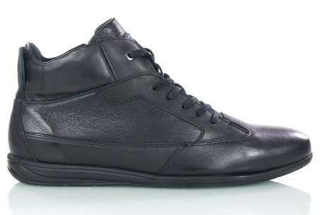 Męskie skórzane buty ocieplane - KRISBUT 6612-1-7 (1)