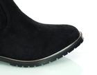 Kozaki damskie elastyczne na płaskim obcasie - FILIPPO DKZ3102/21 BK czarne (2)