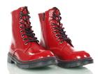 Czerwone lakierowane Glany damskie Dockers 45TS201670-710 (2)