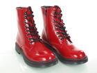 Czerwone lakierowane Glany damskie Dockers 45TS201670-710 (3)