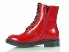 Czerwone lakierowane Glany damskie Dockers 45TS201670-710 (5)