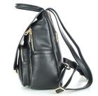 Czarny plecak damski skórzany RYŁKO R40429TB_UV6 (2)